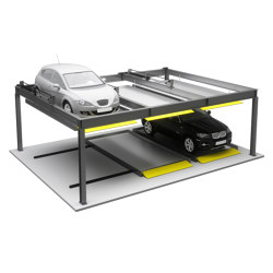 Parking Systems | Puzzle Parking Systems | Fully automatic parking systems | KLEEMANN Elevator Manufacturer