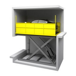 Parking Systems | Scissor Lift Platforms | Mechanic parking systems | KLEEMANN Elevator Manufacturer