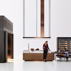 Convivium, Modus Doors System | Fitted kitchens | Arclinea