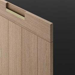 Principia | Cabinet recessed handles | Arclinea
