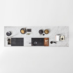 Worktop with recess 12 mm | Kitchen organization | Arclinea