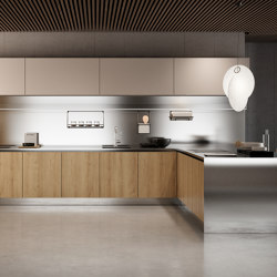 Gamma snack peninsula | Fitted kitchens | Arclinea