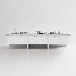 Lignum Et Lapis Island | Island kitchens | Arclinea