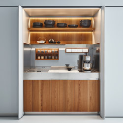New Pocket System | Fitted kitchens | Arclinea