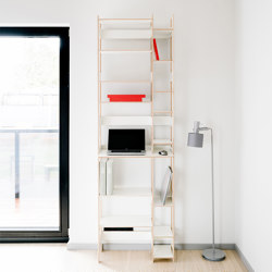 Oficina en casa LIFT | Estantería | Radis Furniture