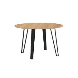 Round dining table VISTA oak veneered | Dining tables | Radis Furniture