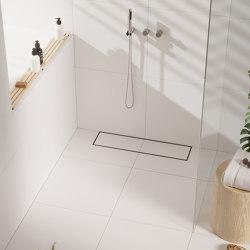 Vieser Line | Tiled | Linear drains | VIESER