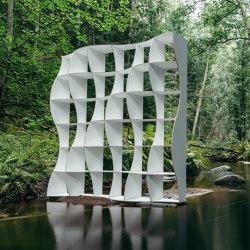 Bookshelf DUNE L white | Shelving | Jaanus Orgusaar