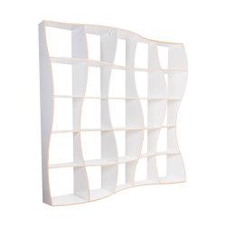 Bookshelf DUNE M white | Shelving | Jaanus Orgusaar