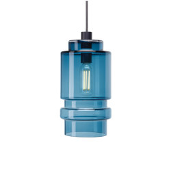 Axle, smoke blue, large   Suspended lights   Hollands Licht