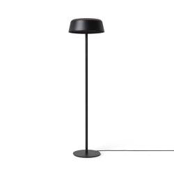 Ring Floor, Black | Luminaires sur pied | Hollands Licht