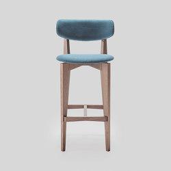 ksenia/i sg round seat | Barhocker | LIVONI 1895