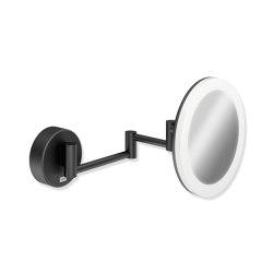 Cosmetic mirror, illuminated | Bath mirrors | HEWI