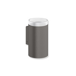 Glass tumbler with holder | Portaspazzolini | HEWI