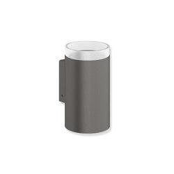 Glass tumbler with holder | Portacepillos / Portavasos | HEWI
