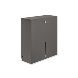 Large toilet roll holder | Portarotolo | HEWI