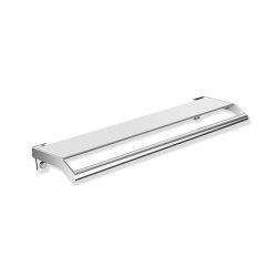 Shelf with grab bar | Mensole / supporti mensole | HEWI