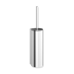 Toilet brush unit with lid | Portascopino | HEWI