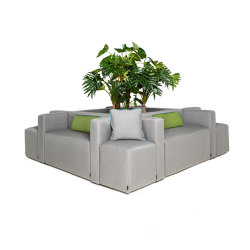 Gastro System | Cube S | Seating islands | IKONO