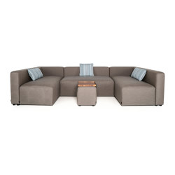 Lounge Outdoor System | U Lounge smart | Sofas | IKONO