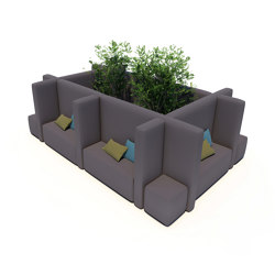 Office System | Office Cube L | Seating islands | IKONO
