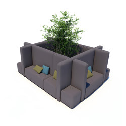 Office System | Office Cube M | Seating islands | IKONO