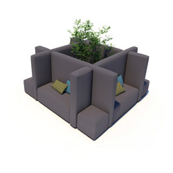Office System | Office Cube S | Seating islands | IKONO