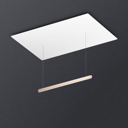 Mito volo acoustic | Suspended lights | Occhio