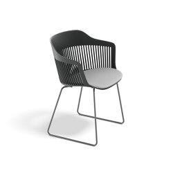 AIIR Armchair with sled base | Chairs | DEDON