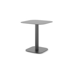 NEWPORT Dining Table, Powder Coated Metal | Bistro tables | DEDON