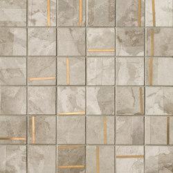 Kamu White Metal Mosaico 30X30 | Carrelage céramique | Fap Ceramiche