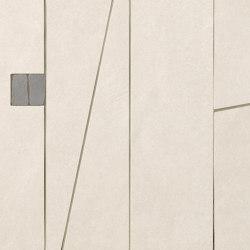 Sheer White Sharp Mosaico Mix 2 30,5X61 | Ceramic tiles | Fap Ceramiche