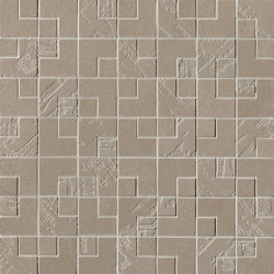 Summer Elle Ombra Mosaico 30,5X30,5 | Carrelage céramique | Fap Ceramiche