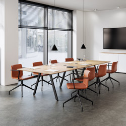 Slide meeting table | Contract tables | RENZ