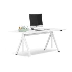 Slide height-adjustable desk | Desks | RENZ