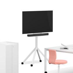 Slide media element | Multimedia stands | RENZ