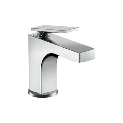 AXOR Citterio Single lever basin mixer 90 with lever handle for hand washbasins with pop-up waste set | Wash basin taps | AXOR