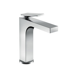 AXOR Citterio Single lever basin mixer 160 with lever handle and pop-up waste set | Wash basin taps | AXOR