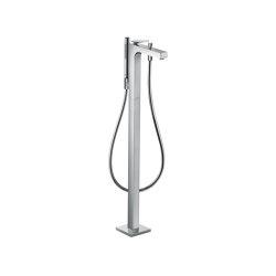 AXOR Citterio Single lever bath mixer floor-standing with lever handle - rhombic cut | Bath taps | AXOR