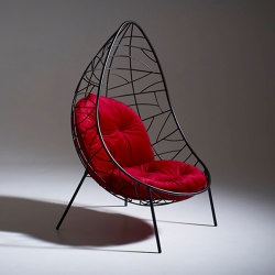 Nest Egg On Legs (L'Eggs) - Twig Pattern | Armchairs | Studio Stirling