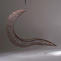 Recliner Hanging Chair Swing Seat - Twig Pattern | Swings | Studio Stirling
