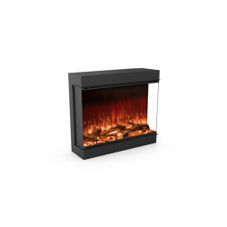 Astro 850 Right Corner | Fireplace inserts | Planika