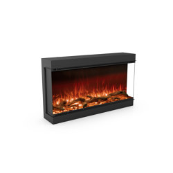 Astro 1200 Right Corner | Fireplace inserts | Planika