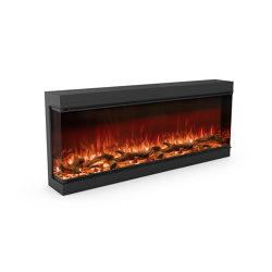 Astro 1500 Left Corner | Fireplace inserts | Planika