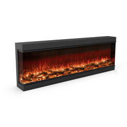 Astro 1800 Left Corner | Fireplace inserts | Planika