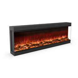 Astro 1800 Right Corner | Fireplace inserts | Planika