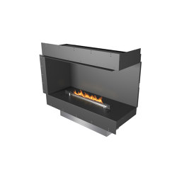 Forma 1000 Right Corner | Fireplace inserts | Planika