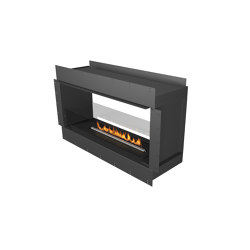 Forma 1200 See-Through | Fireplace inserts | Planika