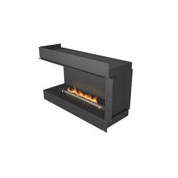 Forma 1200 Left Corner | Fireplace inserts | Planika