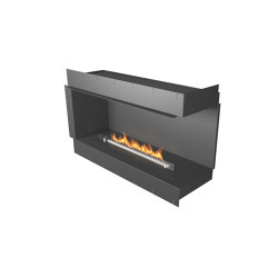 Forma 1200 Right Corner | Fireplace inserts | Planika